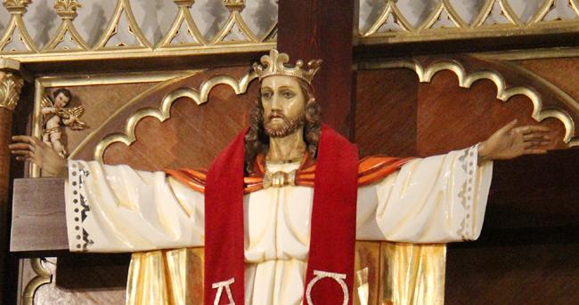 Uroczystość Jezusa Chrystusa Króla Wszechświata – 22 listopada – Parafia  Miłosierdzia Bożego w Chłapowie